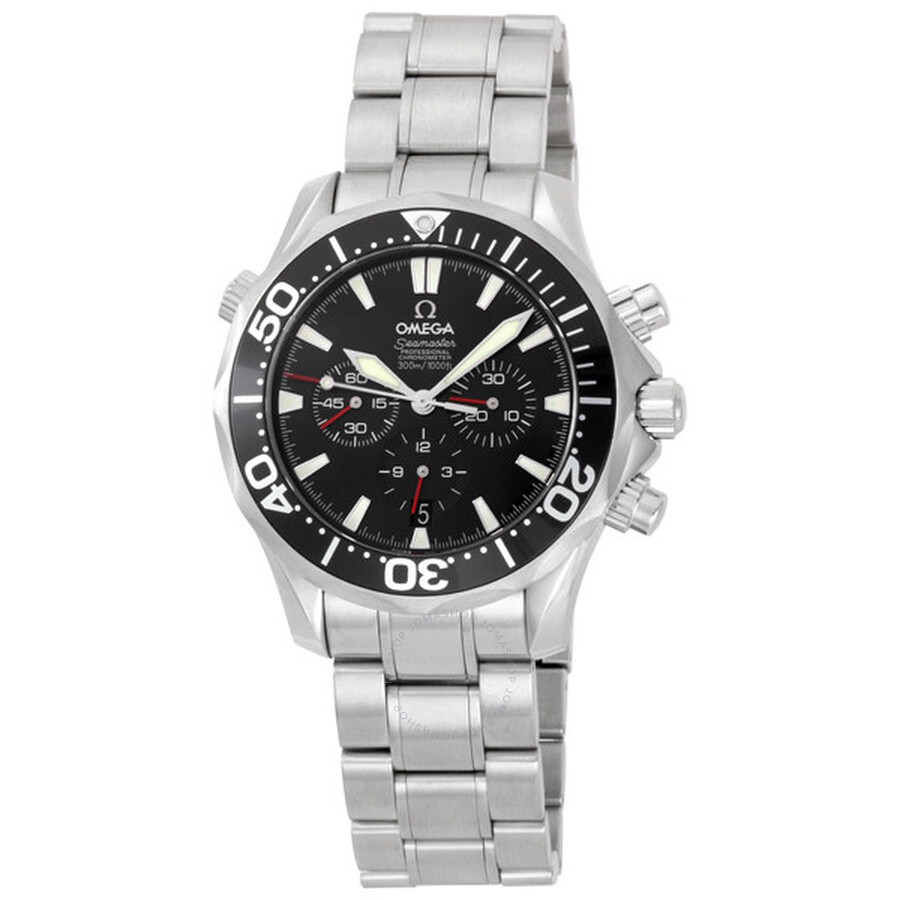 3c294d26ca513 Pre-owned Omega Seamaster Automatic Diver 300M Chronograph Men s Watch  2594.52 ...