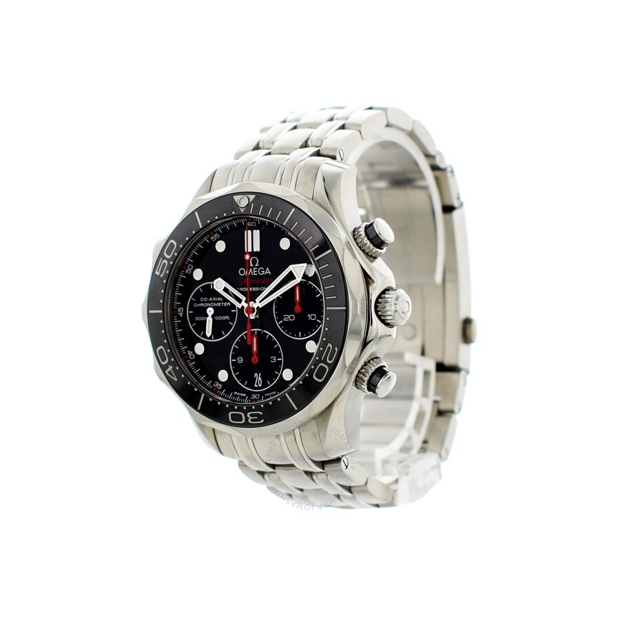 Pre-owned Omega Seamaster Automatic Chronograph Men's ...