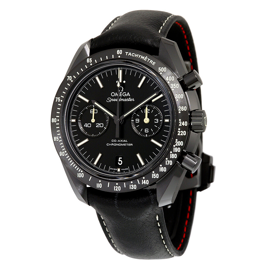Pre Owned Omega Speedmaster Moonwatch Pitch Black Dark