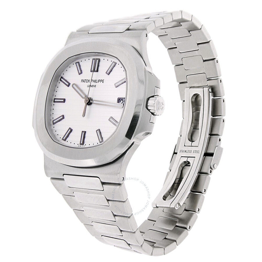 5a9dd9476bb Pre-owned Patek Philippe Nautilus Automatic White Dial Men's Watch 5711/1A -011