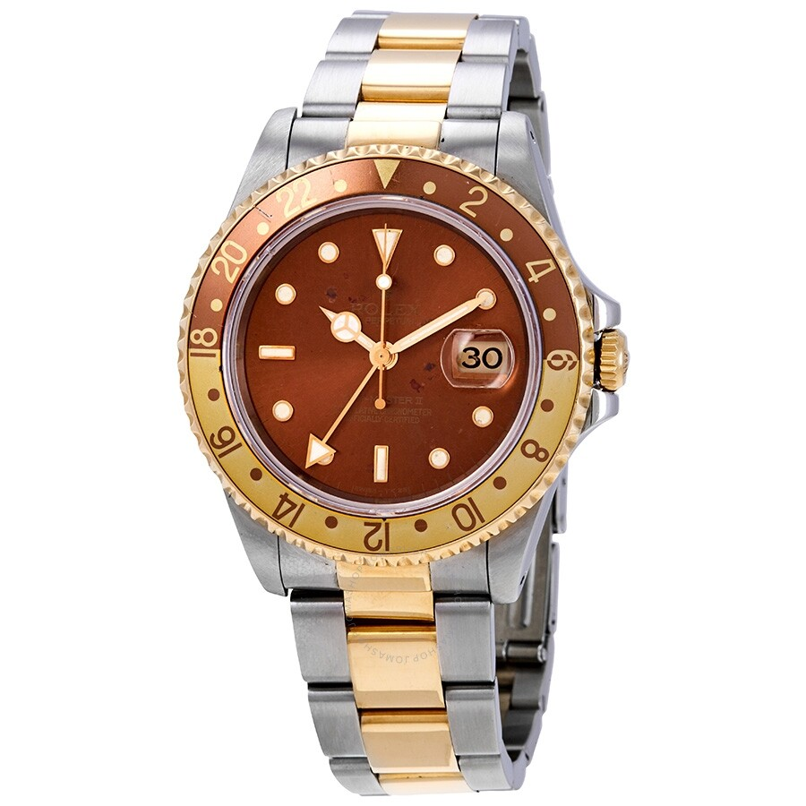 Pre Owned Pre Owned Rolex Gmt Master Ii Automatic Root Beer Dial