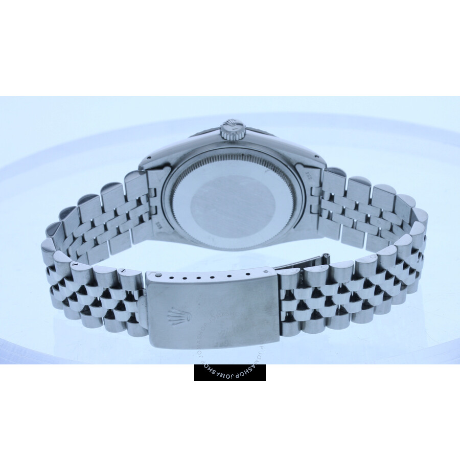 864dcc23a5c05 Pre-owned Rolex Datejust Automatic Silver Dial Men s 16030 ...