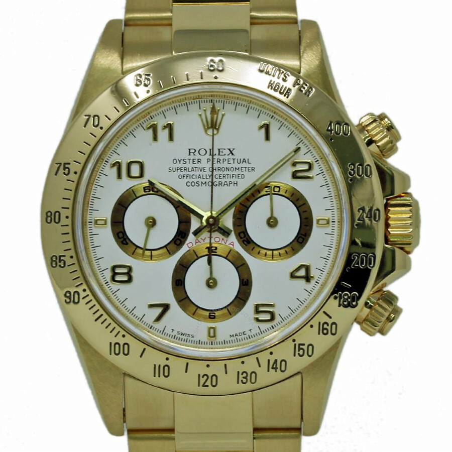 wholesale dealer 04aad c52c0 Pre-owned Rolex Daytona Chronograph Automatic White Dial Men's Watch 16528  WAO