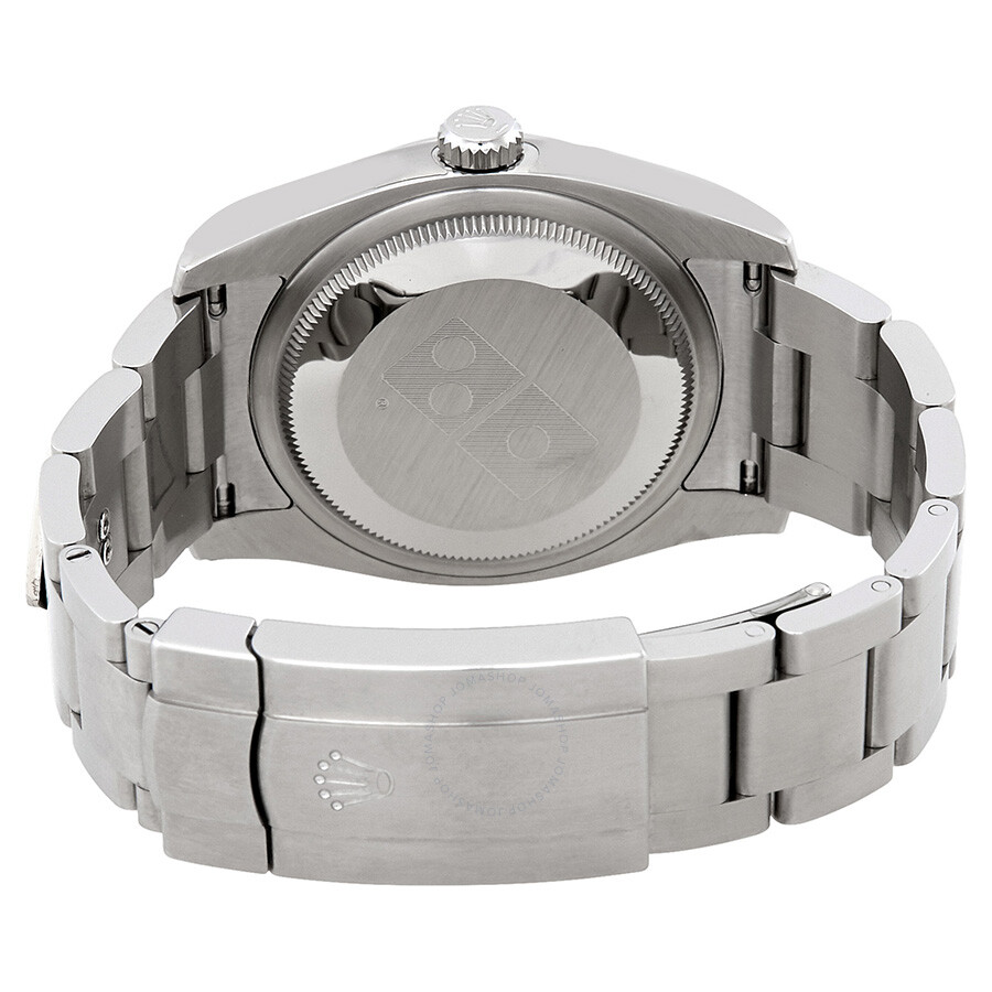 Pre-Owned Rolex Oyster Perpetual 36 mm Silver Dial Stainless steel ...