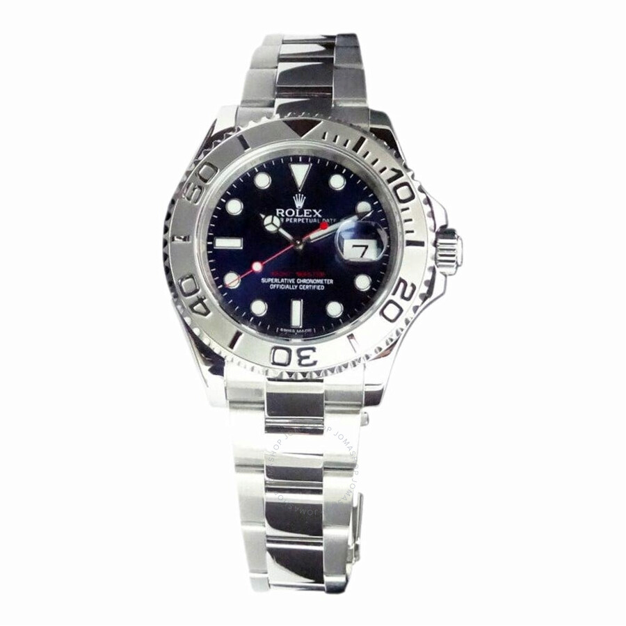 Pre Owned Rolex Yacht Master Automatic Chronometer Blue Dial Men S Watch 116622 Blso