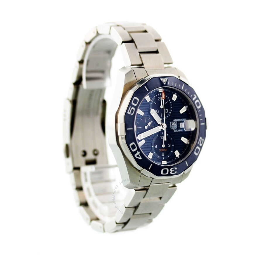 8e1ccca2c87 Pre-owned Tag Heuer Aquaracer Chronograph Automatic Blue Dial Men s Watch  CAY211B.BA0927