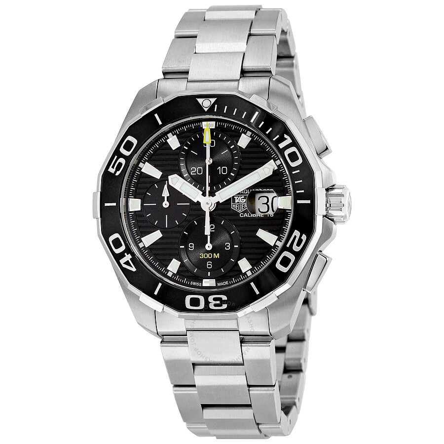 pre owned tag heuer aquaracer chronograph automatic s
