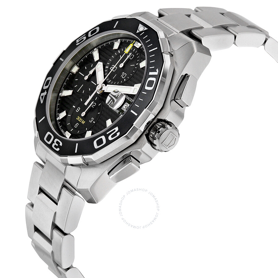 84120f1eb21 BA0927 Pre-owned Tag Heuer Aquaracer Chronograph Automatic Men s Watch  CAY211A.