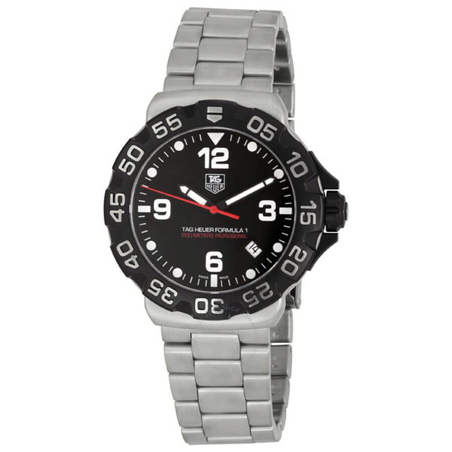 Tag Formula 1 Watch >> Pre Owned Tag Heuer Formula 1 Men S Watch Wah1110 Ba0858