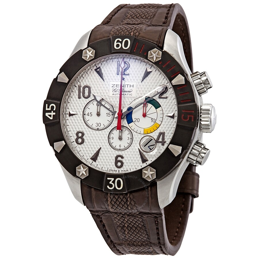 1470882070e Pre-owned Zenith Defy Classic Chronograph Aero Men s Watch 03.0526.4000 01.