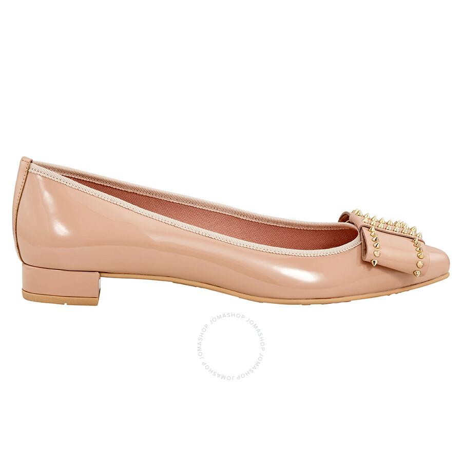 deba2334145f6 Pretty Ballerinas Ella Pump with Bow- Nude/Size 37 - Designer ...