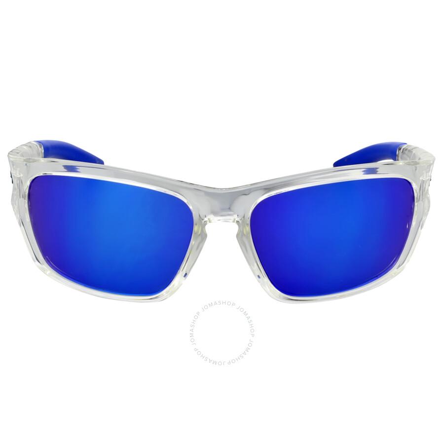 4903b331ac Puma Blue Mirror Wrap Sunglasses - Puma - Sunglasses - Jomashop