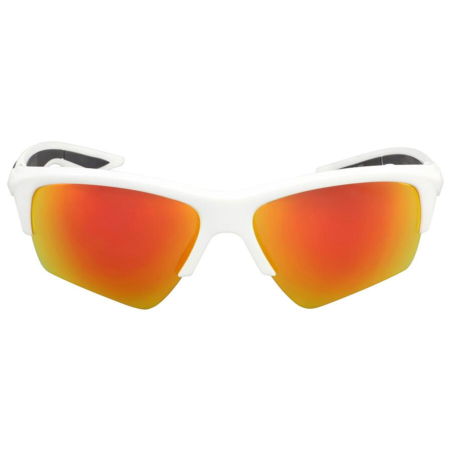 Puma PU0056S Sonnenbrille Weiß und Orange 004 66mm 6RvFCu