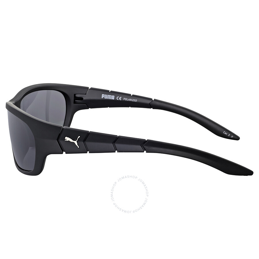 2d16a061224d Puma Smoke Grey Wrap Polarized Sunglasses - Puma - Sunglasses - Jomashop