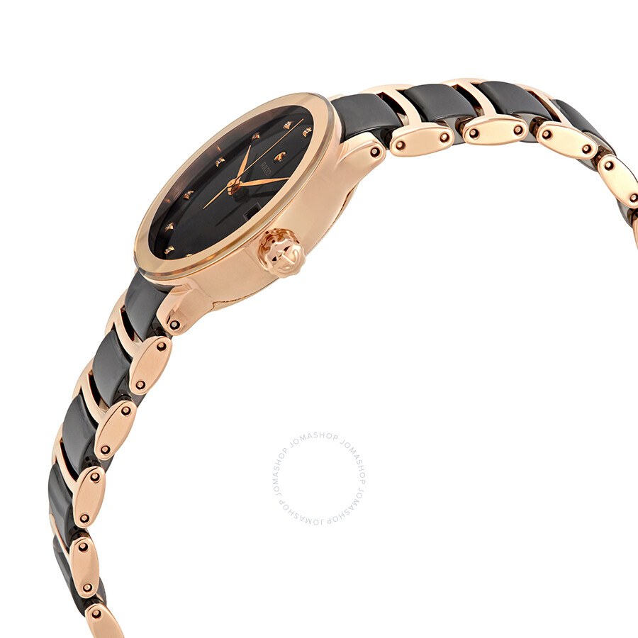 Centrix Automatic Diamond Black Dial Ladies Watch R30183732