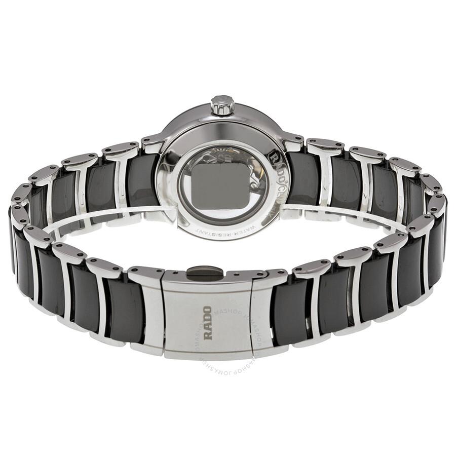 Centrix Ceramic Black Dial Ladies Watch R30942702