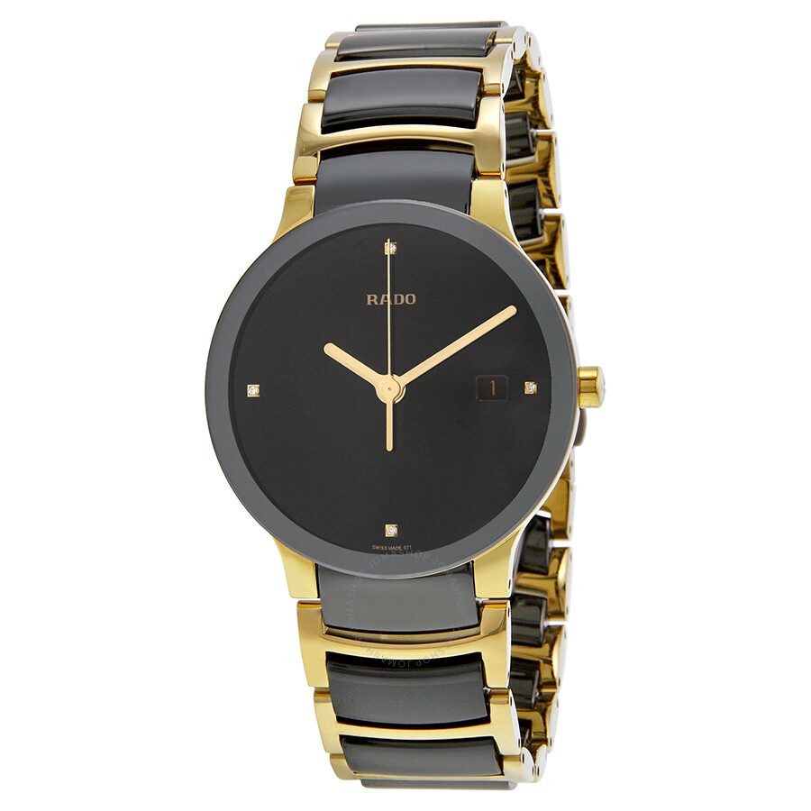 Rado centrix jubile black ceramic men 39 s watch r30929712 centrix rado watches jomashop for Jubilee watch