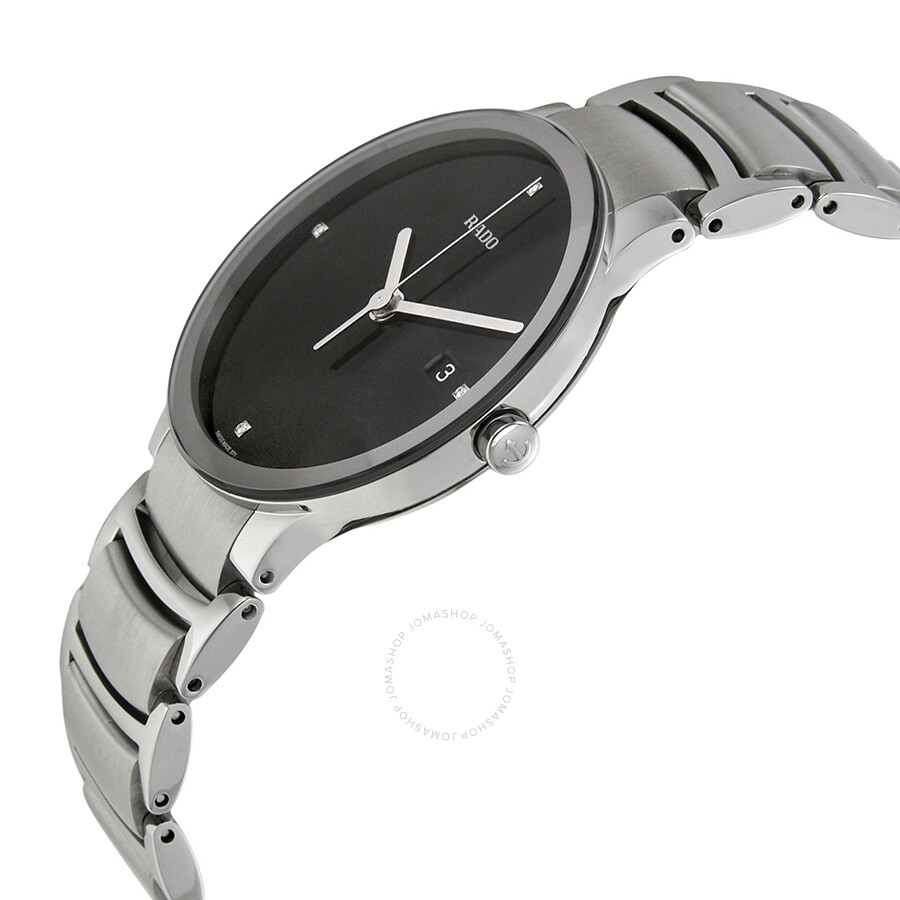 92e9c722a9 ... Rado Centrix Jubile Black Diamond Dial Men's Watch R30927713 ...
