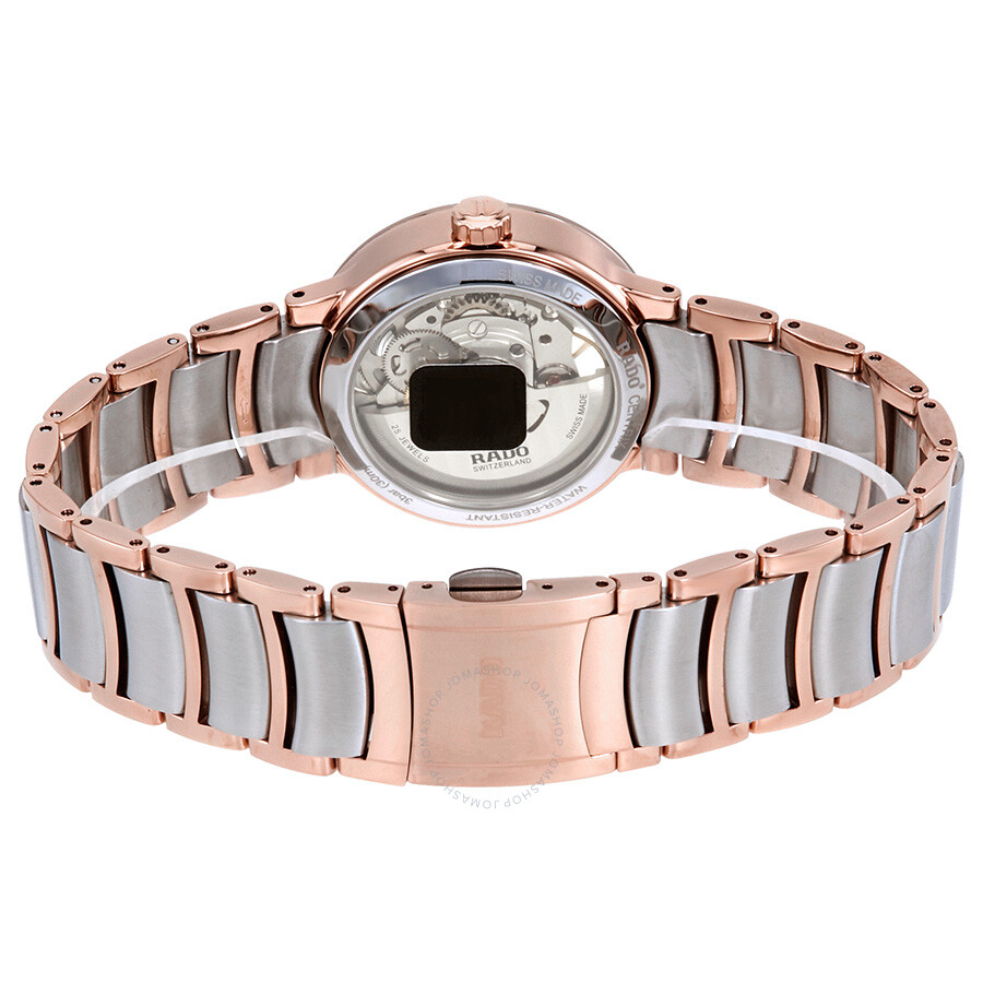 f6a803789 ... Rado Centrix Open Heart Automatic Silver Skeleton Dial Ladies Watch  R30248012