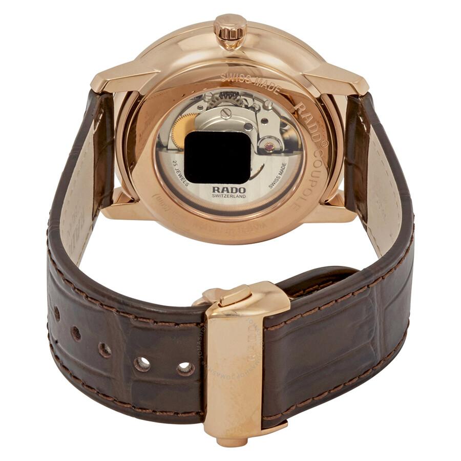 44cecb56a74 Rado Coupole Classic Automatic Black Dial Men s Watch R22879165 ...