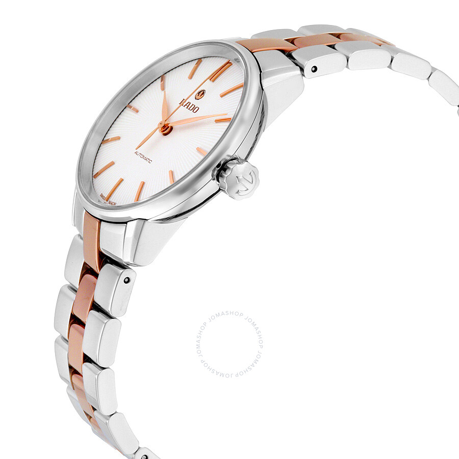 64be3bd27 ... Rado Coupole Classic Automatic White Dial Two-tone Ladies Watch  R22862022 ...