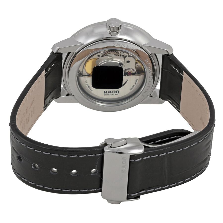 e1a8a303b5f Rado Coupole Classic L Silver Dial Automatic Men s Watch R22860045 ...
