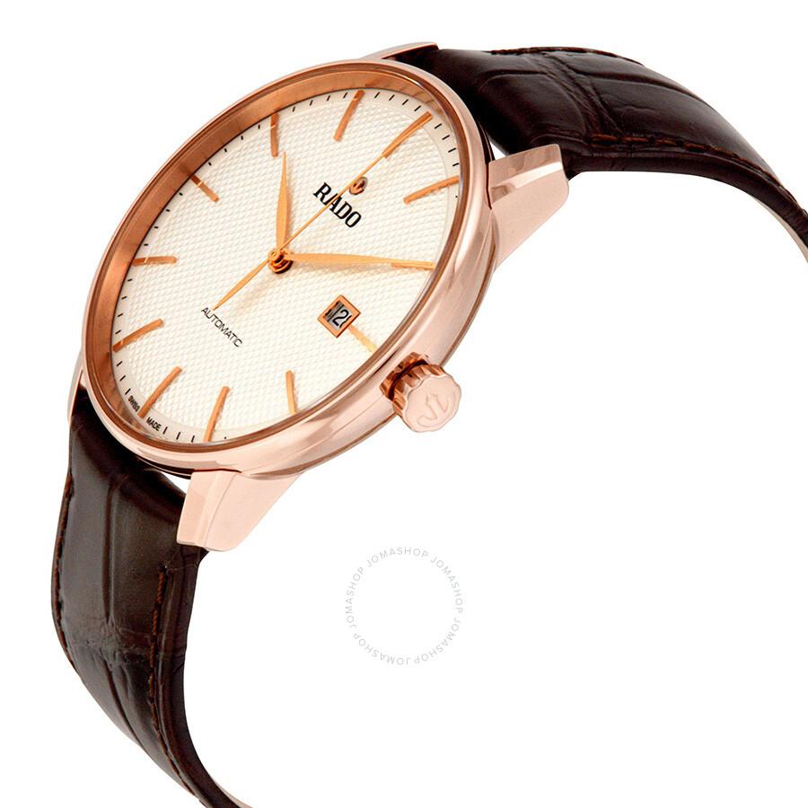 45c9fab1a Rado Coupole Classic Automatic Black Dial Men's Watch .