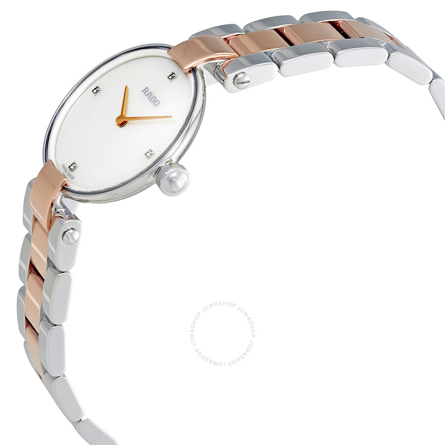 31a911c8076f ... Rado Coupolse Mother of Pearl Diamond Dial Ladies Watch R22854913 ...
