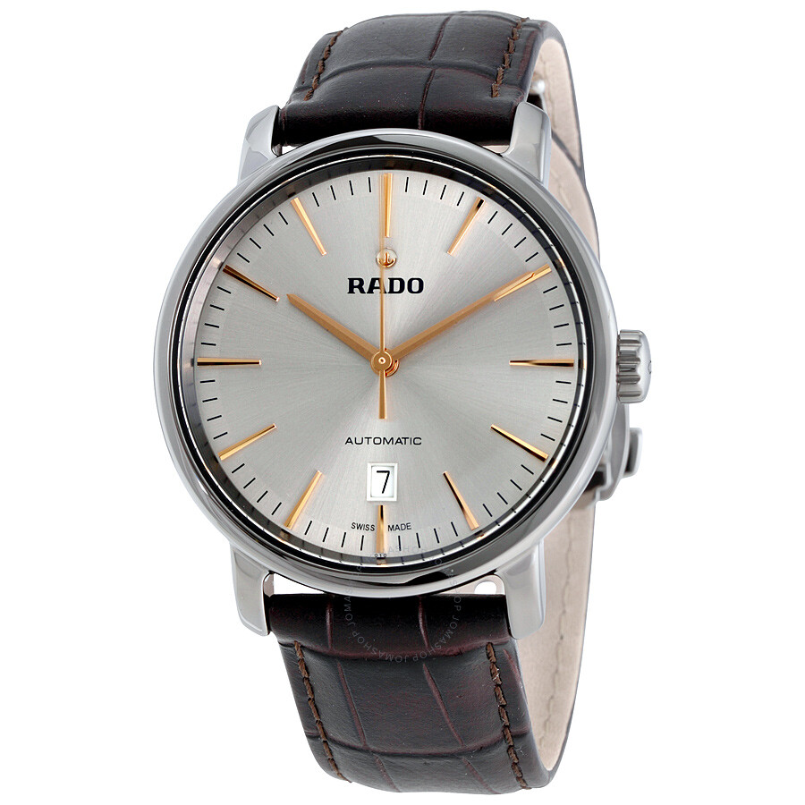 ef2afe66d Rado Diamaster XL Automatic Silver Dial Men's Watch R14074106 ...