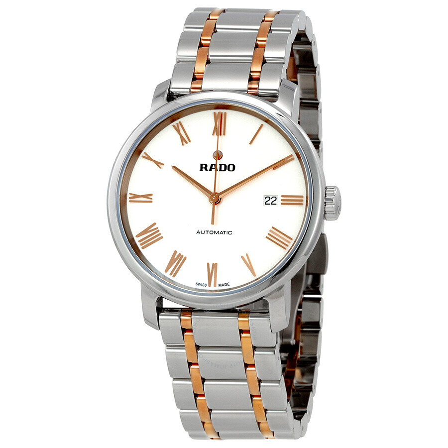 30437ec42 Rado Diamaster XL White Dial Automatic Men's Watch R14077123 ...