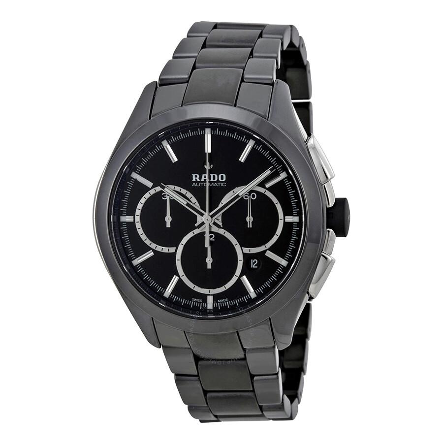rado hyperchrome xxl automatic chronograph black ceramic men s rado hyperchrome xxl automatic chronograph black ceramic men s watch r32275152