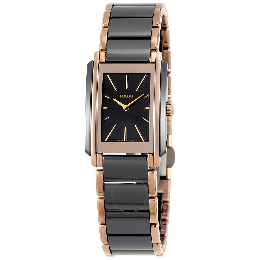 Rado Integral Black Ladies Watch R20225152 - Integral - Rado ... 85fd307f6