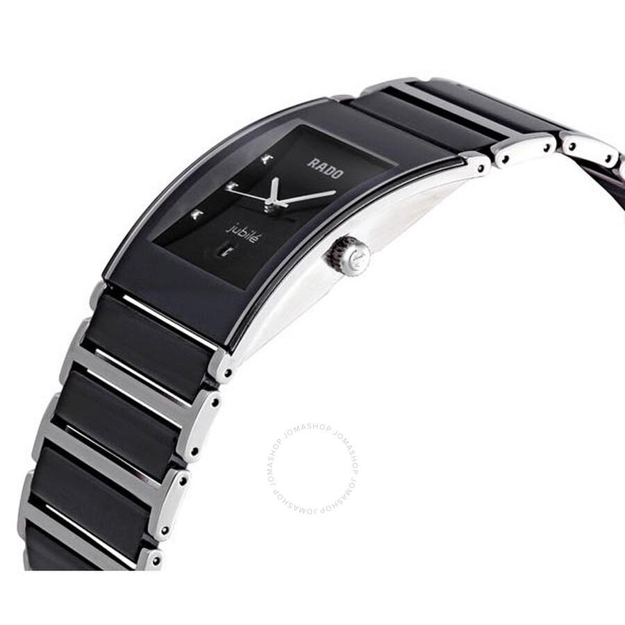 c476c40a9 Rado Integral Ceramic Black Dial Men's Watch R20784752 - Integral ...