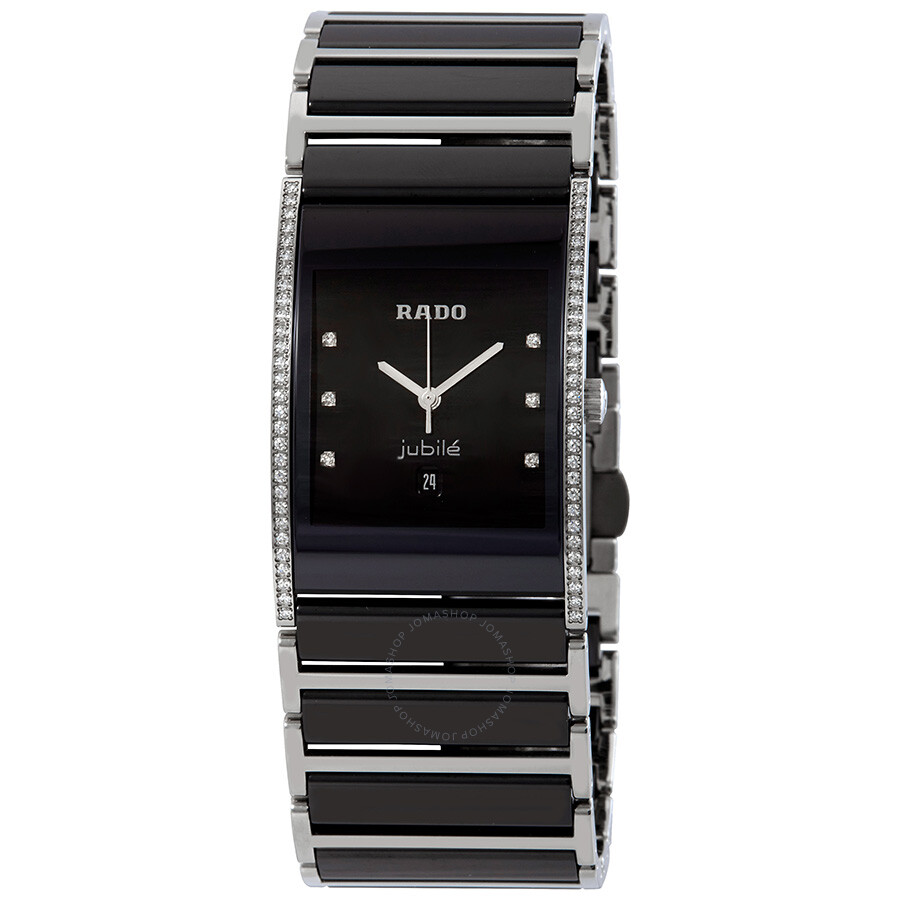 f9a3ae313 Rado Integral Diamond Black Dial Men's Watch R20757759 - Integral ...