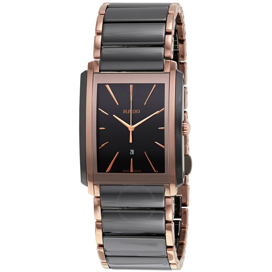 947758ab5 Rado Integral L Black Dial Black Ceramic Men's Watch R20962152 ...
