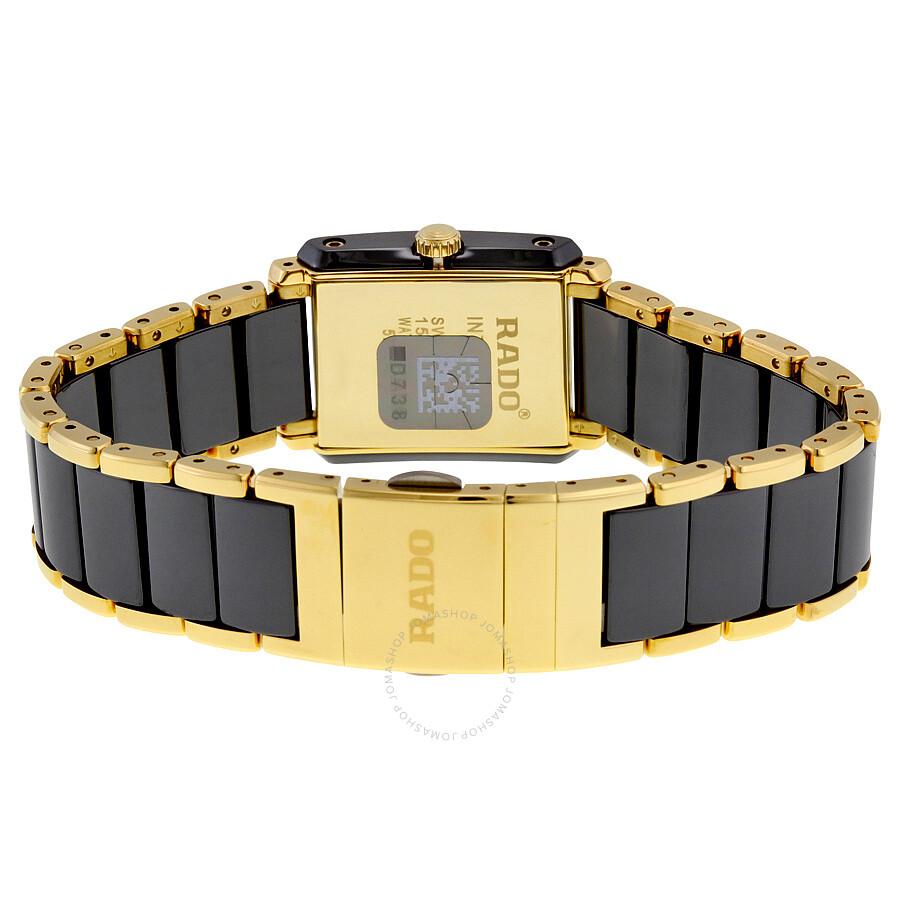 Rado integral diamond set watch