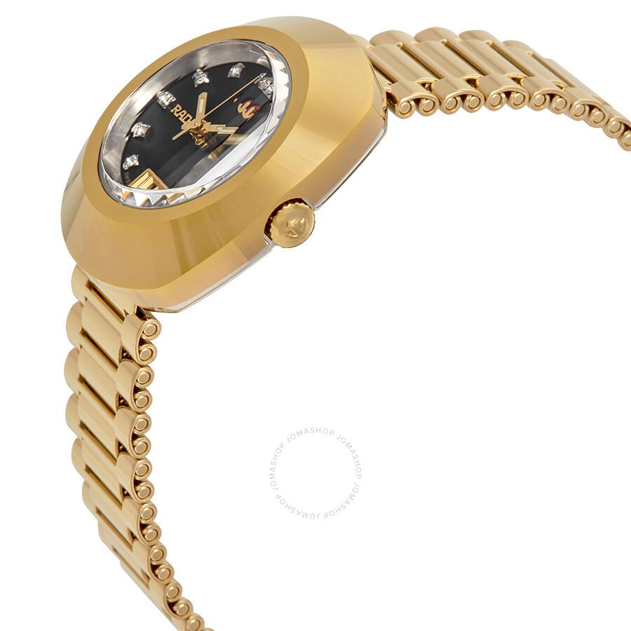 Original Automatic Black Dial Ladies Watch R12416613