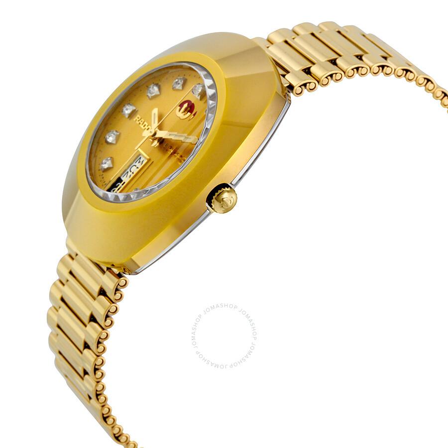 rado original jubile gold automatic r12413493 gold