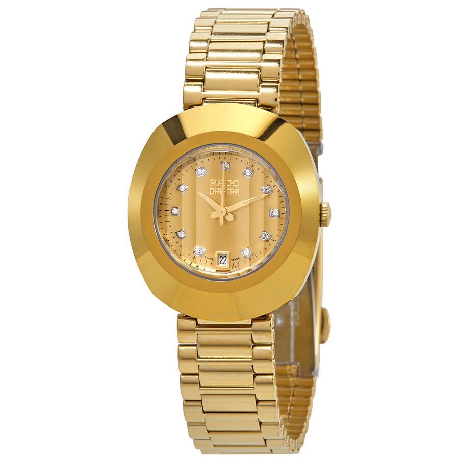 Original Yellow Gold Dial Ladies Watch R12306303