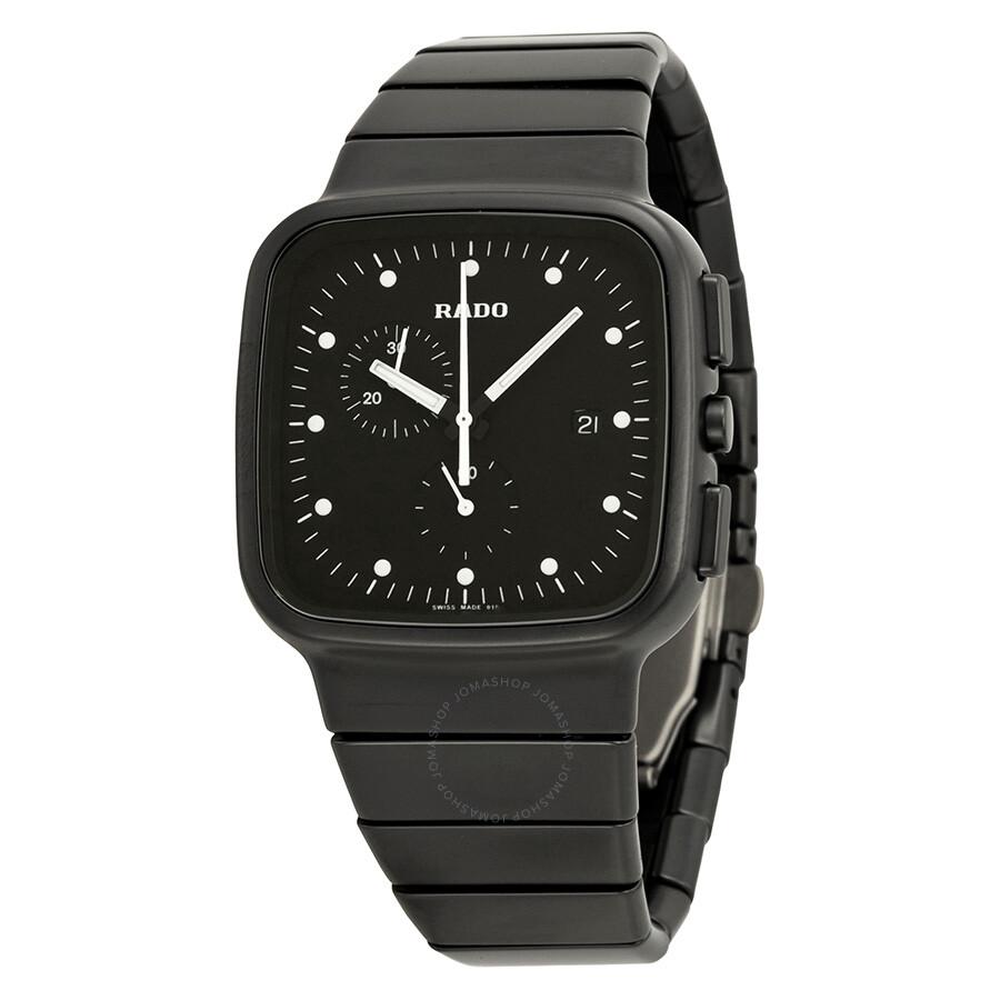 601bcfe4888c Rado R5.5 Chronograph Black Dial Black Ceramic Men s Watch Item No.  R28886182
