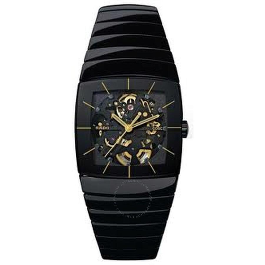 Sintra xxl black dial black ceramic watch