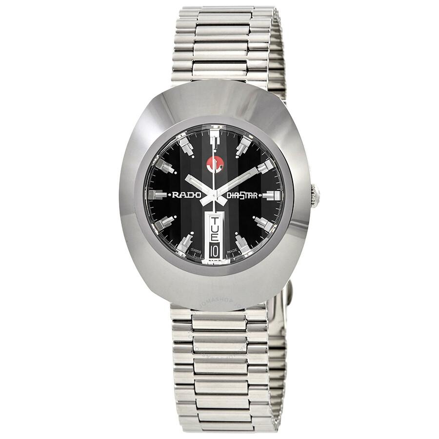 6a26ffb36 Rado The Original Automatic Black Dial Men's Watch R12408623 ...