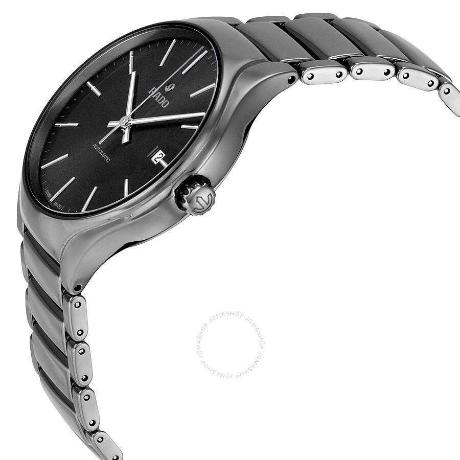 2ad99b2f1 ... Rado True Automatic Gray Dial Plasma High-Tech Ceramic Men's Watch  R27057102 ...