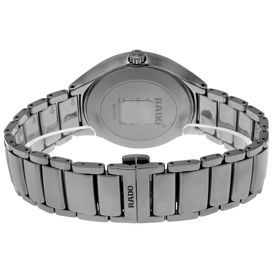 ce95aafee ... Rado True Automatic Gray Dial Plasma High-Tech Ceramic Men's Watch  R27057102