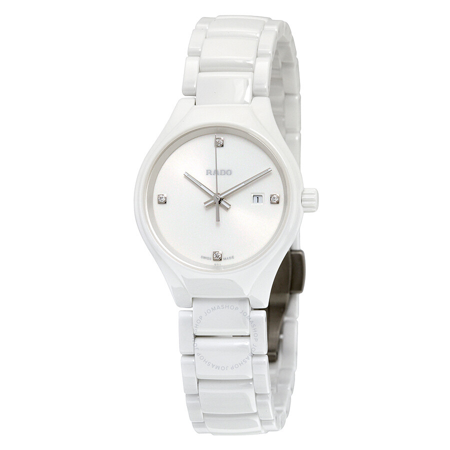 dd35616b299 ... thinline jubile white ceramic las watch r27958702. Rado True High Tech White  Ceramic Diamond Las Watch R27061712
