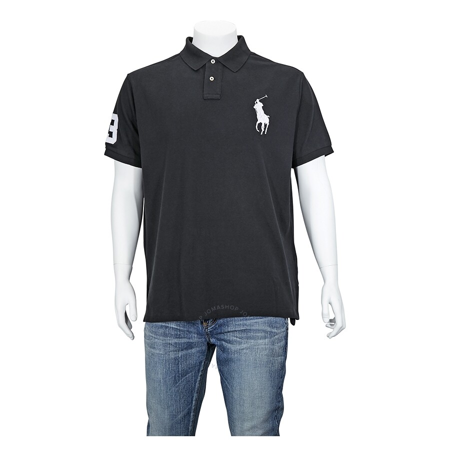 eff92098a55846 Ralph Lauren Black Polo Shirt- Size S - Apparel - Fashion & Apparel ...