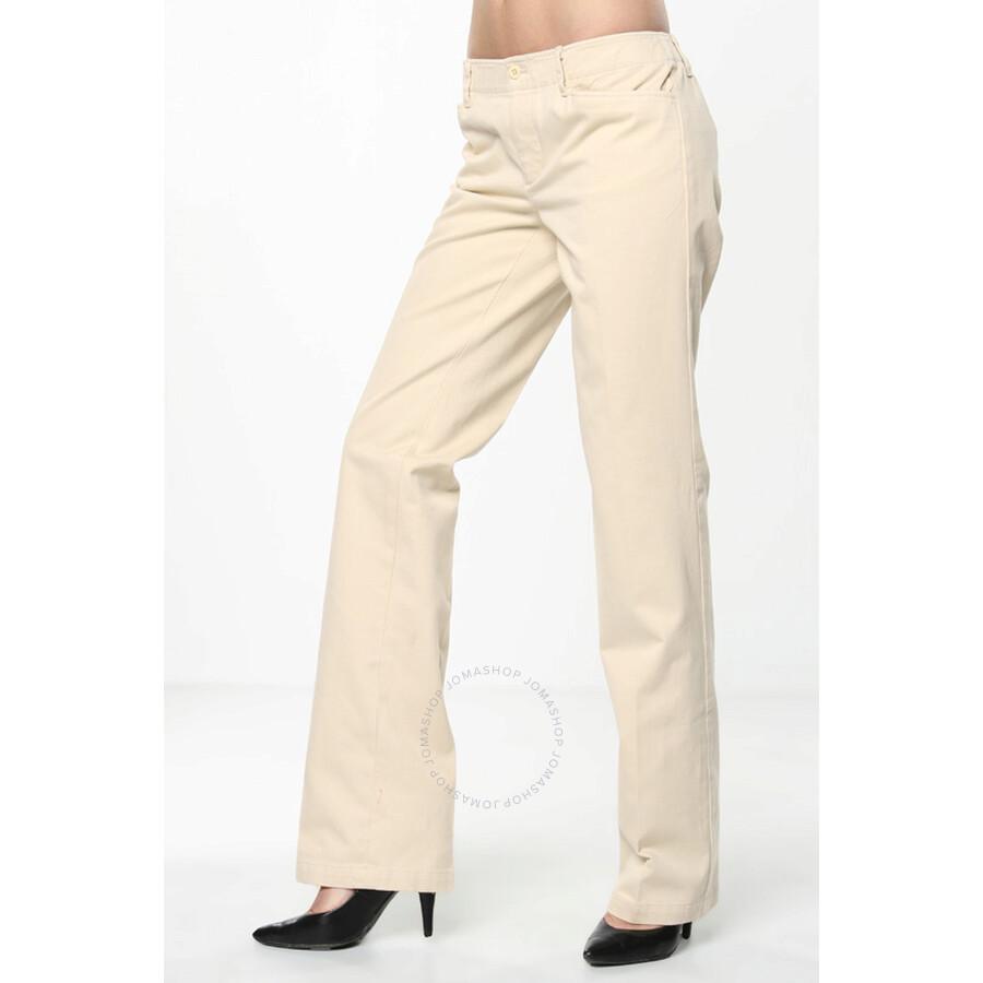 Simple Ralph Lauren Black Label Casual Pants In Blue  Lyst