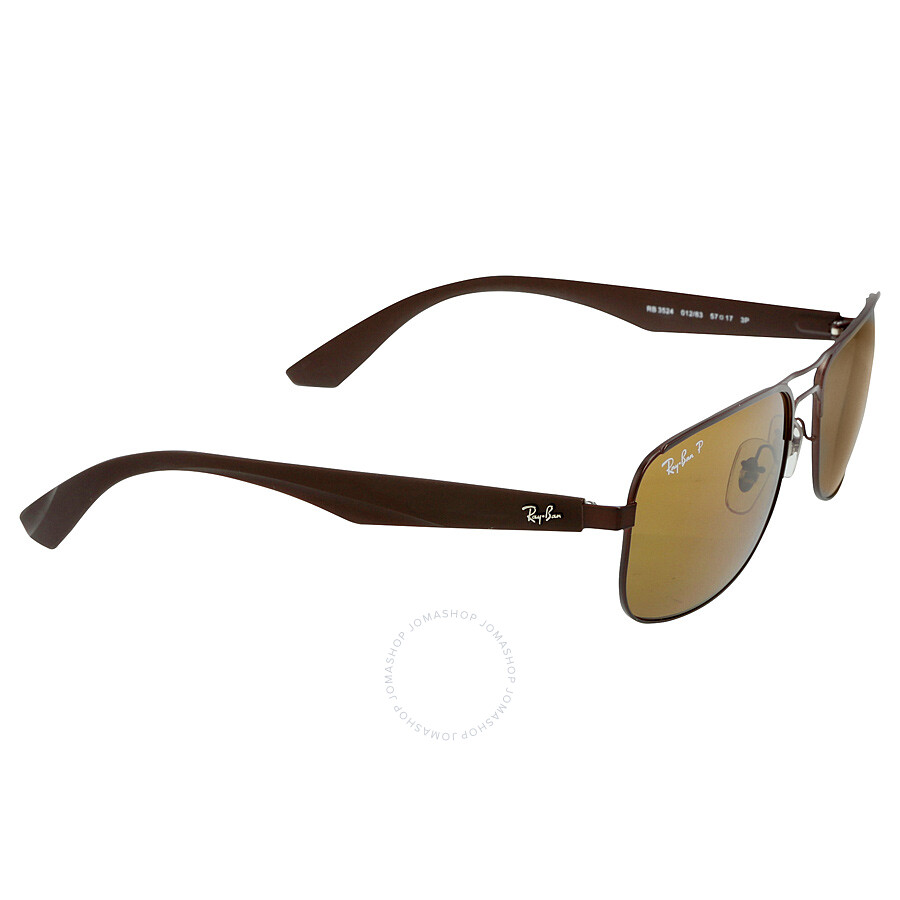 dedb19bb14e Ray-Ban 57 mm Sunglasses - Polarized Brown Classic B-15 - Ray-Ban ...