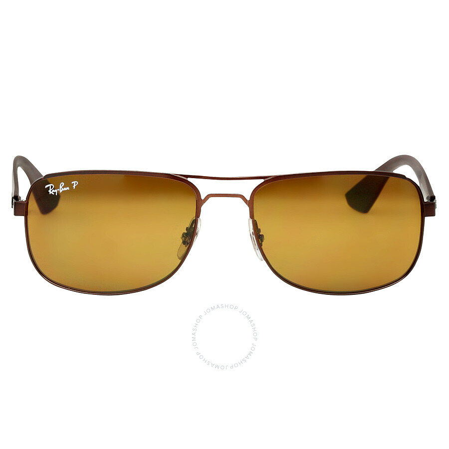 f732c3645f7 Ray Ban Ray-Ban 57 mm Sunglasses - Polarized Brown Classic B-15 Item No. RB3524  012 83 57-17