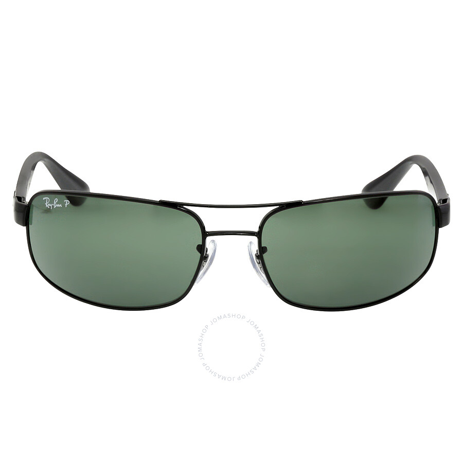 d9912ef982f Ray-Ban 61 mm Sunglasses - Black   Polarized Green Classic G-15 ...